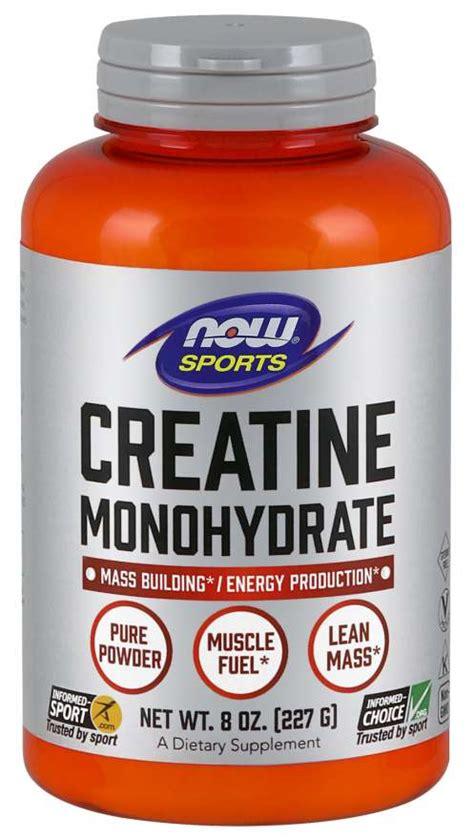 Creatine Monohydrate   Creatine Powder   NOW Creatine