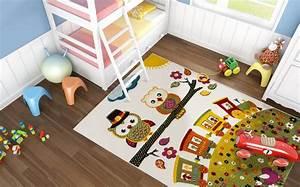 Tapis Pour Chambre Enfant : tapis chambre garcon ~ Melissatoandfro.com Idées de Décoration