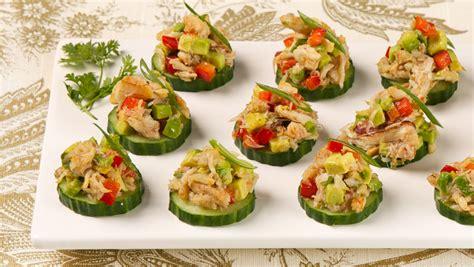 canape s crab and avocado canapes best recipes