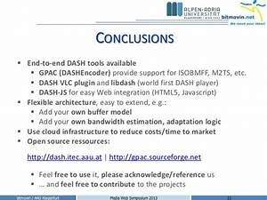 MPEG-DASH open source tools and cloud services