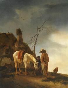 Gemälde Verkaufen Online : reiter mit seinem schimmel bei der rast von philipps ~ A.2002-acura-tl-radio.info Haus und Dekorationen