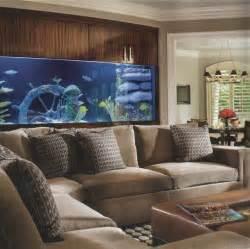 Aquarium Living Room Design
