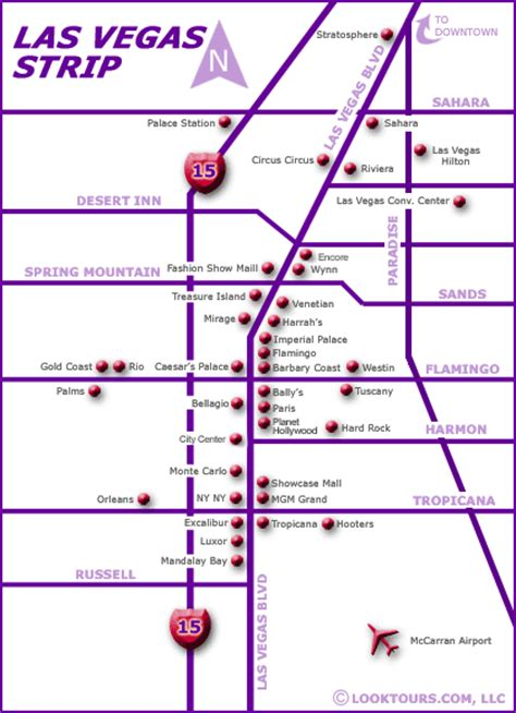 las vegas map las vegas map las vegas hotels on the