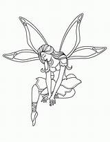 Fairy Coloring Pages Printable sketch template