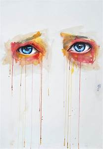 Watercolor Eye Illustrations by Jone Bengoa | ilikethesepixels