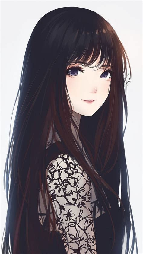 Anime Wallpaper Drawing by Beautiful Anime Artwork Hair 720x1280