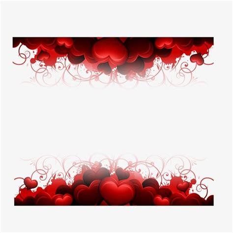 hearts border moldura coracao coracao vermelho arte