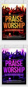 Praise And Worship Church Flyer by AnAYa22 | GraphicRiver