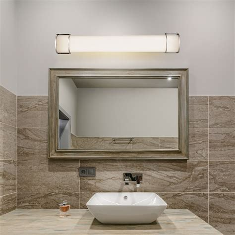 costway 36 25w integrated led linear vanity light bar wall sconce bathroom aisle ul walmart com