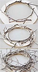 Faire Une Couronne De Noel : d co no l faire soi m me en branches adopter les ~ Preciouscoupons.com Idées de Décoration