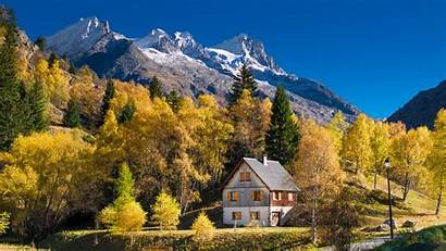 France Autumn Alps Mountains Nature Automne Trees
