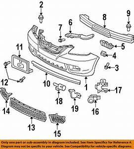 Buy Honda Oem 71193shja00 Front Bumper