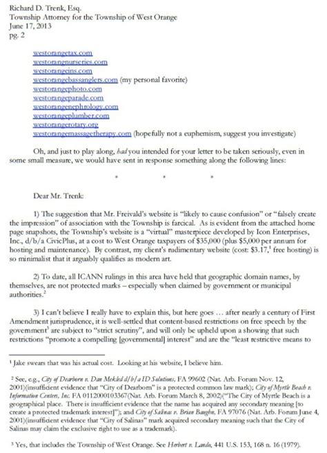 respond   unjust cease  desist letter