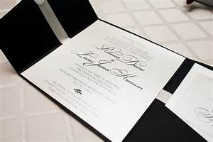 1 black white wedding invitation significant events of With images of black and white wedding invitations