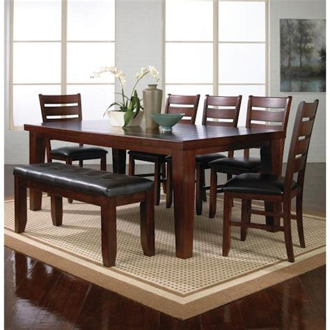 modern dining room sets with bench modern bench style dining table set ideas homesfeed