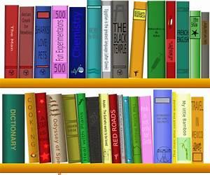 Books On Shelf Clip Art at Clker.com - vector clip art ...