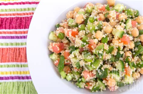 cuisine et vin de recettes salade de quinoa à la gab recettes du québec