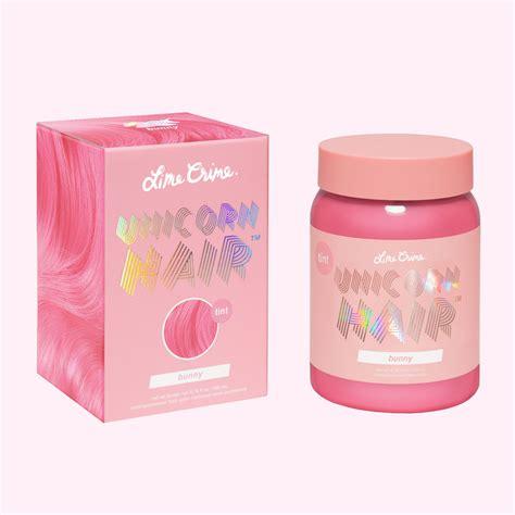 Bunny Pastel Pink Vegan Semi Permanent Hair Dye Lime Crime