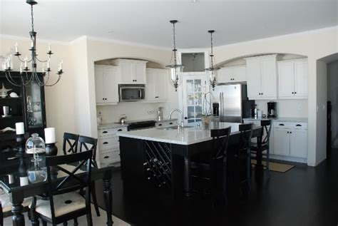 white kitchen black island kitchen black and white kirstie alterator 39 s