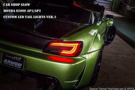 honda s2000 lights car shop glow honda s2000 ap1 ap2 custom led lights