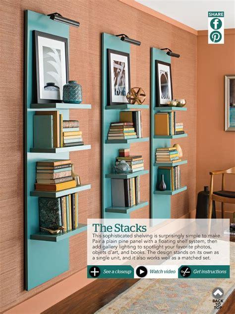 Shelves Ideas Diy by Best 25 Wall Shelving Ideas On Wall Shelves