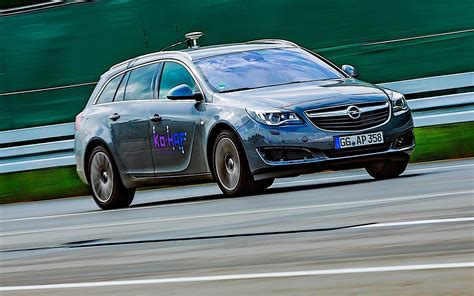 Opel Car : Insignia Prototype Shows Opel Cars Can Drive Themselves Too