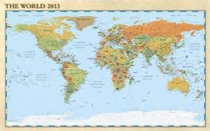 Small Printable World Map