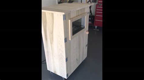 homemade wood smoker youtube