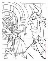 Tangled Coloring Rapunzel Pages Disney Princess Flynn Sheets Printable Colouring Rider Maximus Print Face Boys Adult Pan Frying Little Popular sketch template