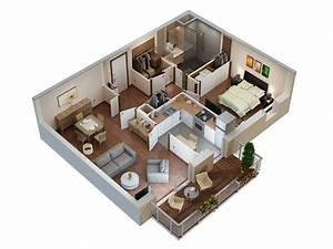 plans 3d et 2d archives studio multimedia 3d at home With plan d appartement 3d