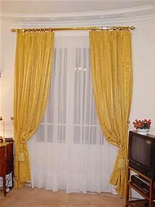 Anneaux Rideaux à Clipser : confection de double rideaux avec anneaux ~ Premium-room.com Idées de Décoration