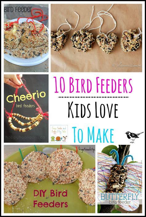 bird feeders kids love   fspdt
