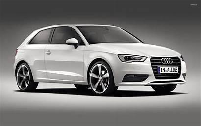 Audi A3 Hatchback Side Cars Wallpapers