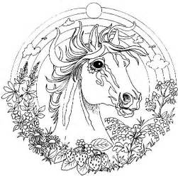 HD wallpapers coloriage mandala cheval a imprimer gratuit