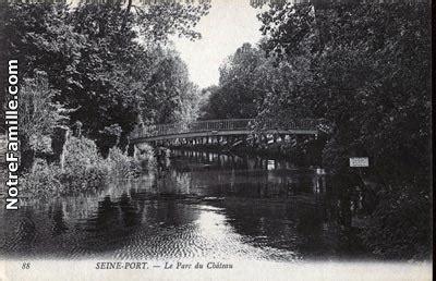 photos et cartes postales anciennes de seine port 77240
