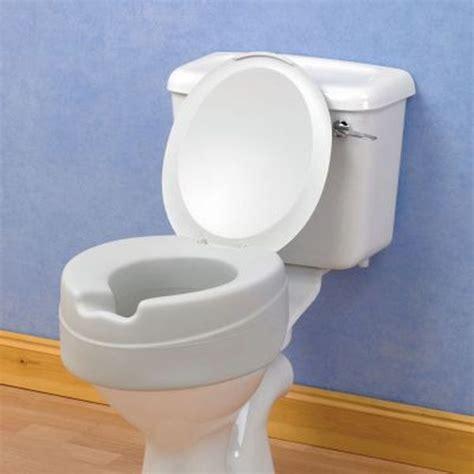 siege toilette pour handicape rehausseur de toilettes en mousse