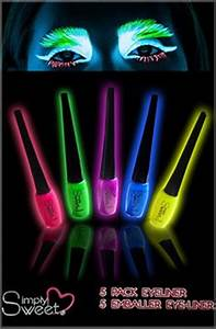 1000 images about Glow in the Dark Makeup on Pinterest