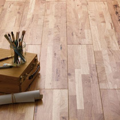 solid wood parawood flooring collect in store