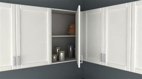 kitchen corner wall cabinet ikea kitchen hack a blind corner wall cabinet perfect for