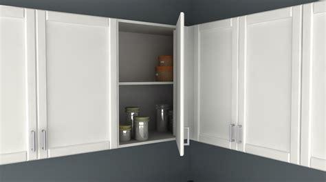 blind corner upper cabinet cabinets matttroy