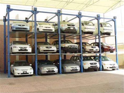 Parking Mécanique Plateforme Tournante Monte Voiture