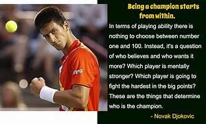 Novak Djokovic Inspirational Tennis Quotes. QuotesGram
