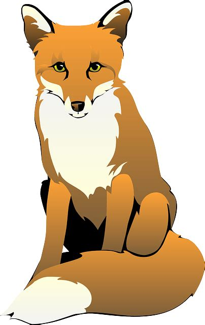 cute fox clipart  clipart images clipartix