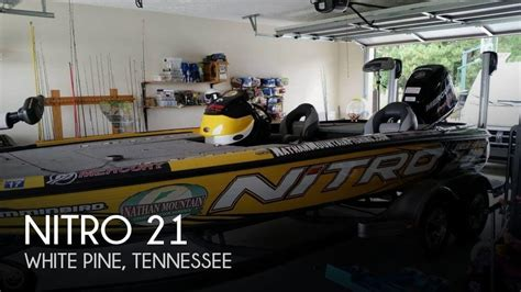 Craigslist Boats For Sale Knoxville Tennessee by Nitro New And Used Boats For Sale In Tennessee