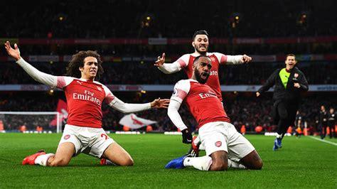Arsenal Vs Tottenham 4 2 Stats