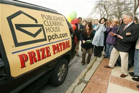 publishers clearing house prize patrol the wall 9 live