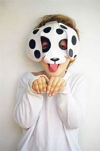Printable dog mask template, patterns, worksheets ...