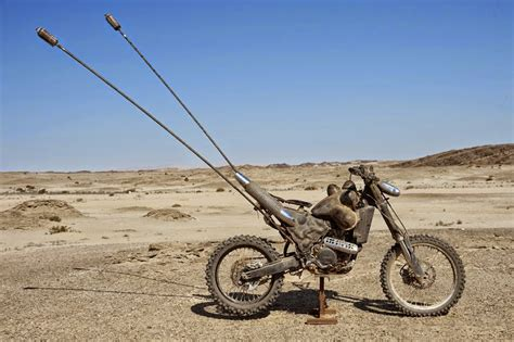The Motorcycles In Mad Max