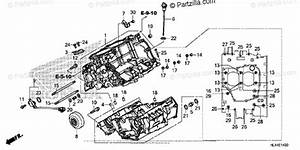 Honda Side By Side 2016 Oem Parts Diagram For Crankcase
