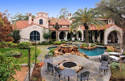 Opulent Mediterraneanstyle Mansion In Texas